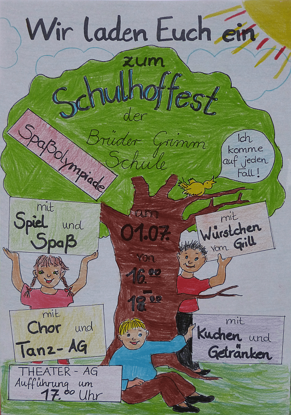 Schulfest Plakat-min