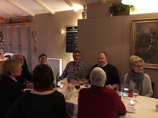 Dialog mit dem Bürgermeister Hildebrand