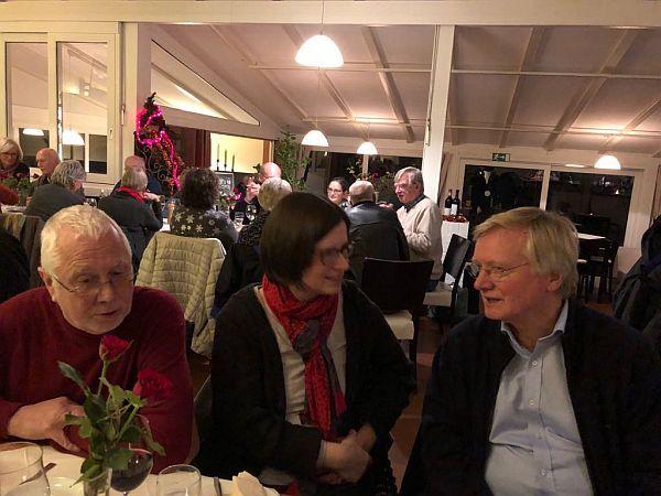 J. Schnelle, C. Guse und J.Krüger im Austausch...